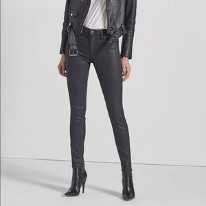 Current/Elliot Coated High Waist Ankle Skinny 29